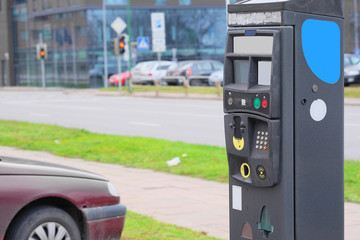 Parking machine