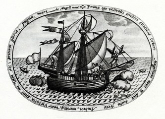 Victoria - Spanish carrack from Magellan's fleet