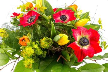 Strauß mit Frühlingsblumen