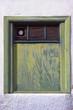 canvas print picture - Altes Fenster auf Teneriffa