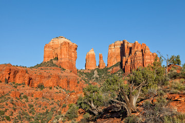 Moon Over Cathedral Rock