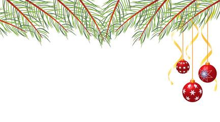 Sfondo natalizio bianco