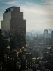 Santiago City Skyline