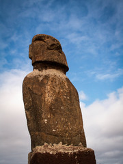 Looking Up At Moai