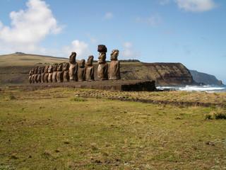 Inland Facing Moai