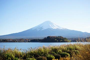 The beautiful mount Fuji in Japan