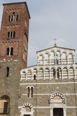 The Church of San Pietro Somaldi in Lucca, Italy