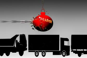 camionneurs grève