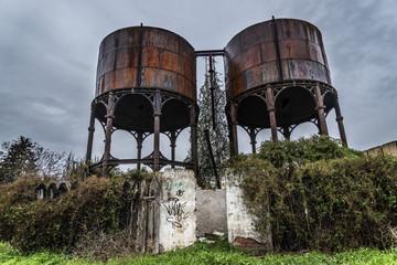 Depósitos hierro Valladolid