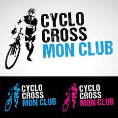 cyclo cross vtt cycliste velo logo