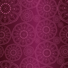 Vector oriental pattern. Seamless abstract wallpaper and backgro