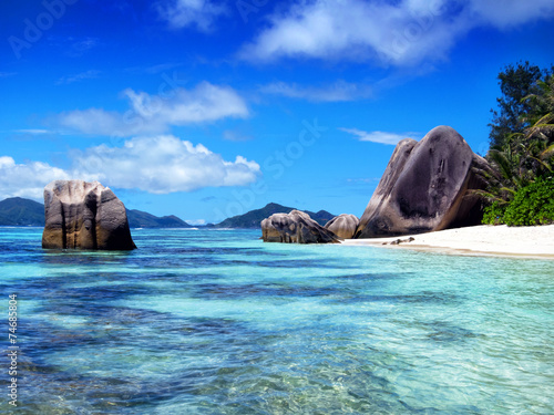 canvas print picture Seychelles