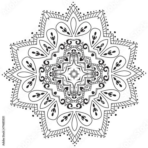 Vector oriental pattern. © astarte7893