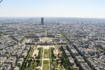 Champ de Mars from the Eiffel Tower, Paris