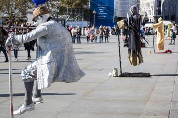 Street Performer, London