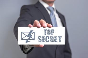 Top secret - Businesskonzept