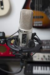 mikrofon in tonstudio 01
