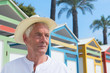 Senior man at the beach