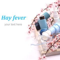 Asthma inhalers with inhalation mask