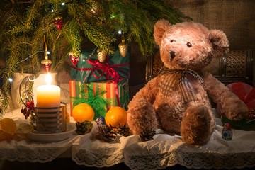 Натюрморт Рождественский Новогодний