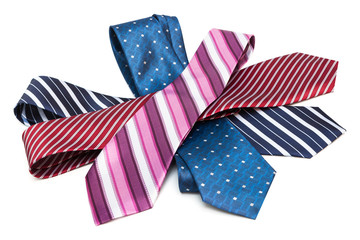 necktie a bunch