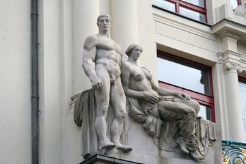Sculptural composition