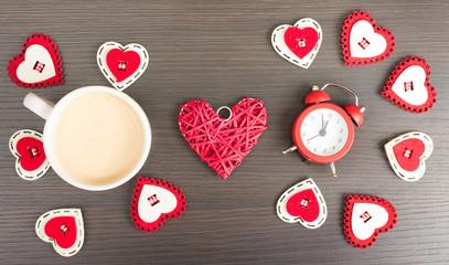 Romantic coffee