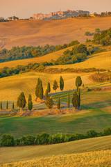Tuscany Autumn Landscape Italy