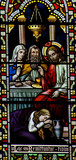 Mary Magdalene washing the feet of Jesus poster