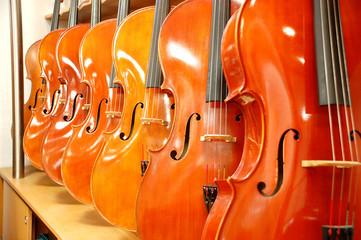 Cello Detailansicht Korpus Celli