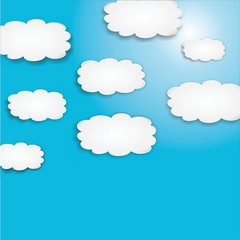 Wolken Himmel  #141214-01