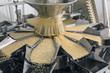 Leinwanddruck Bild - Automated food factory