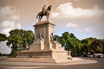 Monumento a Giuseppe Garibaldi, Gianicolo, Roma