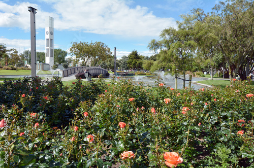 Fotobehang Nieuw Zeeland Palmerston North - New Zealand - The Square