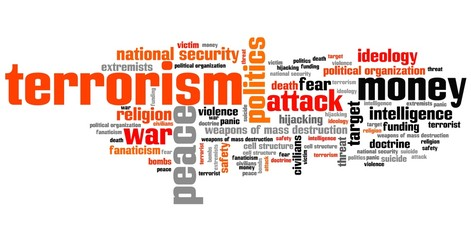 Terrorism - word cloud illustration