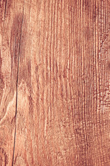 Wooden wall as red background or texture