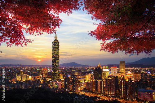 Image of beatiful landscape, Taiwan - 74698080