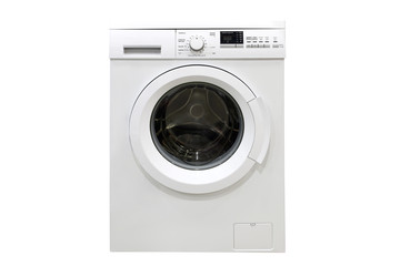 washing machine isolated on a white background