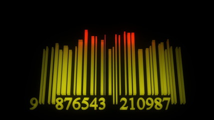 Dance barcode equalizer