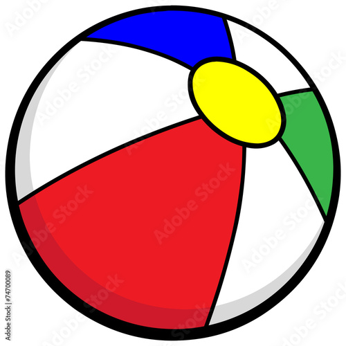 Beach Ball Icon - 74700089