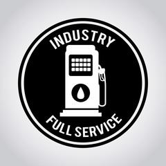 Industry design, vector illustration.