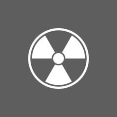 radioactive sign icon