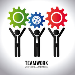 Teamwork design,vector illustration.