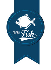 Seafood design, vector illustration.