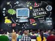 Social Network Social Media People Seminar Education Concept