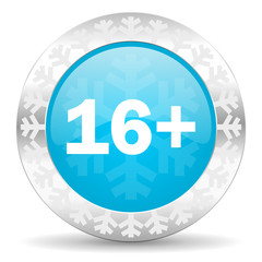 adults icon, christmas button