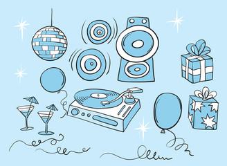 celebration party background