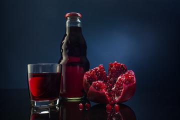 pomegranate and pomegranate juice