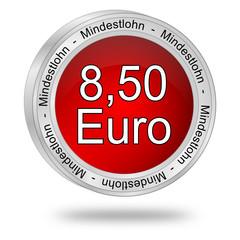 8,50 Euro Mindestlohn