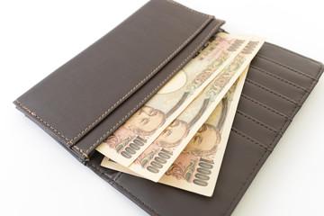お財布に入れた紙幣